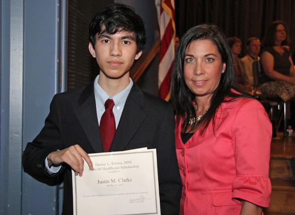 2012 Garden City High School Scholarship winner